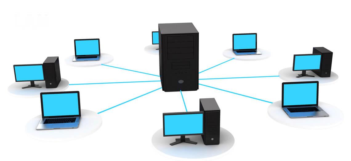server based network
